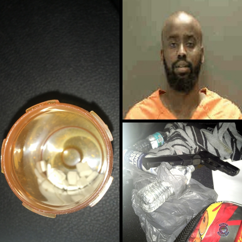 Traffic stop leads to marijuana, cocaine, loaded firearm and ammunition