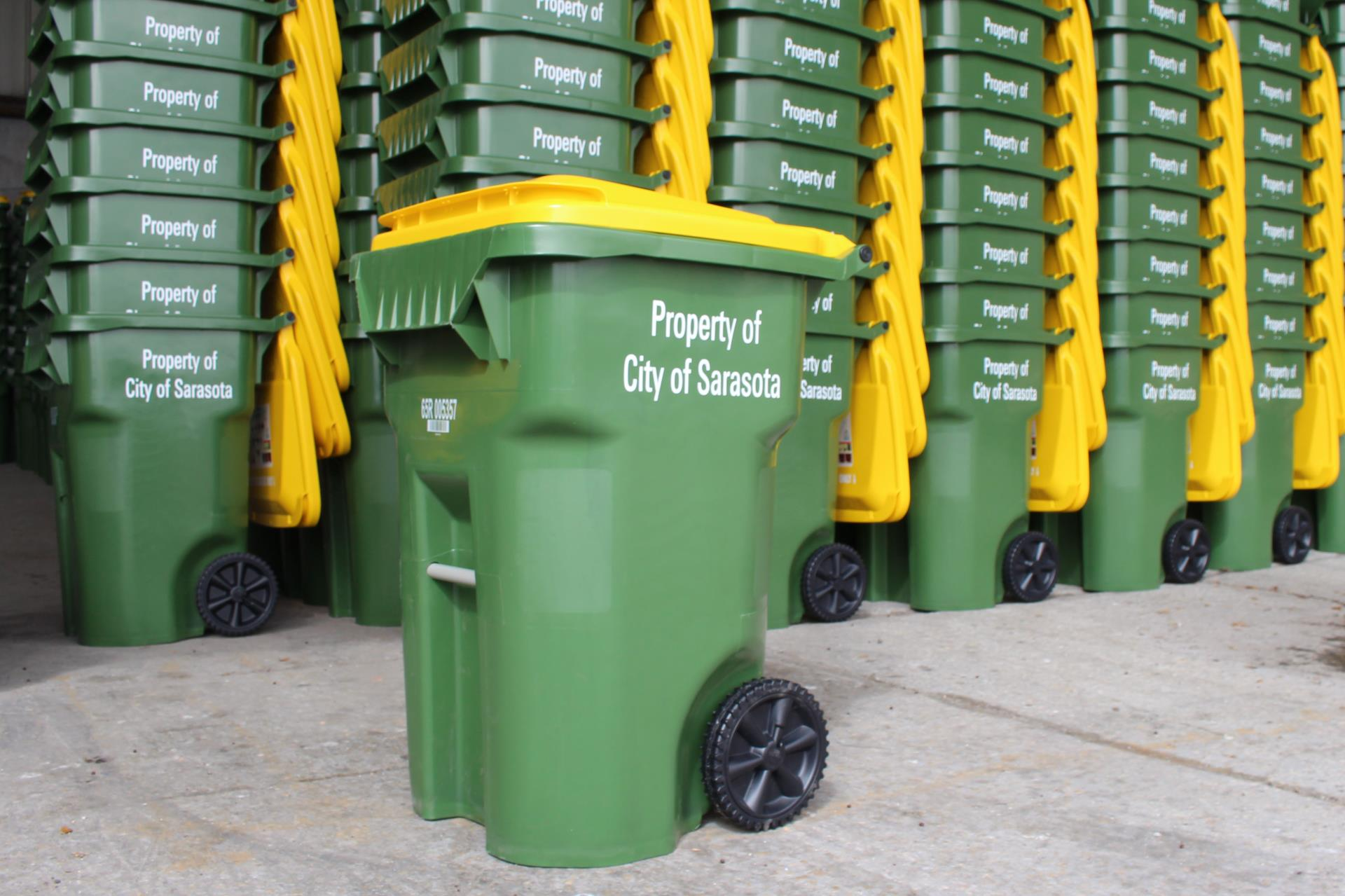 New Recycling Carts